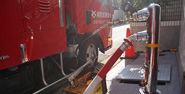 連結送水管の耐圧性能点検