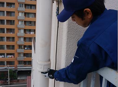 加圧・送水によるによる圧力保持の確認(1階→屋上)