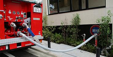 消防用水・採水口