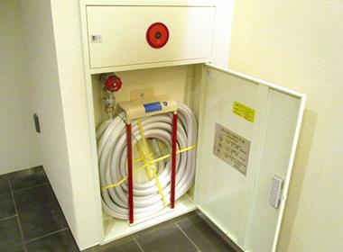 屋内消火栓(放水、性能・機能試験)