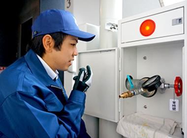 連結送水管(耐圧・放水試験)